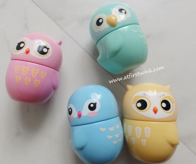 Etude House Missing U hand creams in cute bird containers