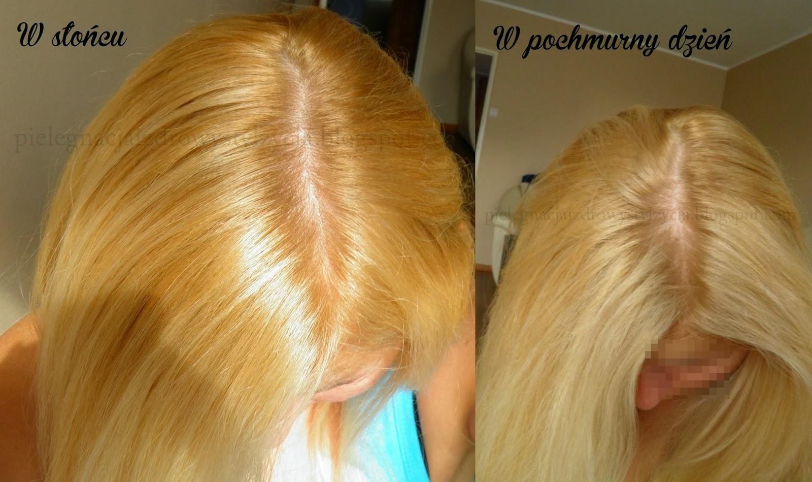Farba do włosów Schwarzkopf Color Mask 1010 jasny, perłowy blond. Efekty farbowania.