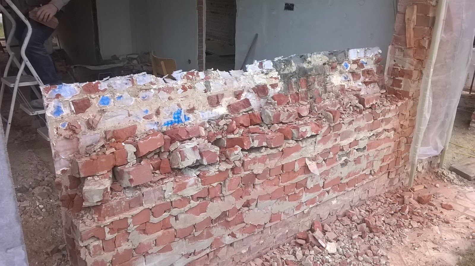 Woonkamer aan de muur deco - Deco originele muur ...