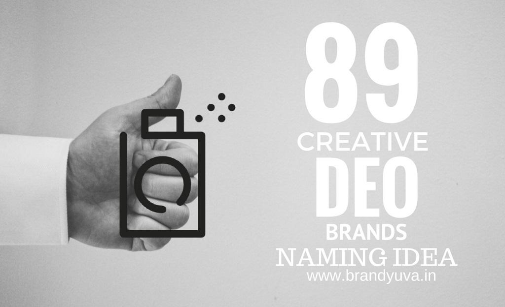 89 Creative Deodorant Brand Names Idea