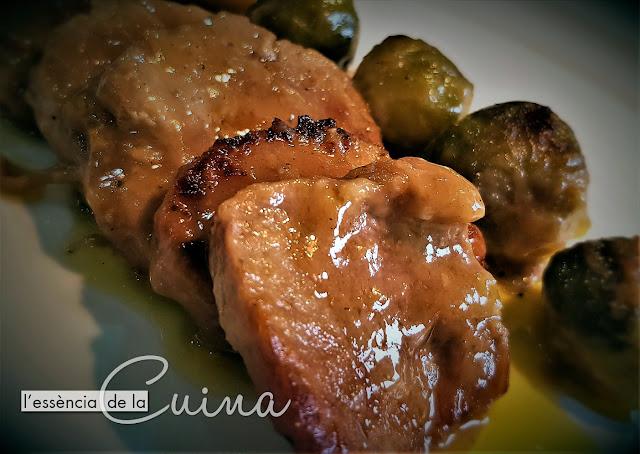 Frincando de Llom, Cols de Brusel.les, L'Essència de la Cuina, Blog de cuinad e la Sònia, cuina casolana