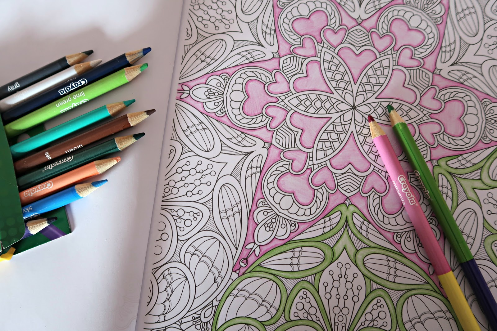 Mindfulness Colouring In