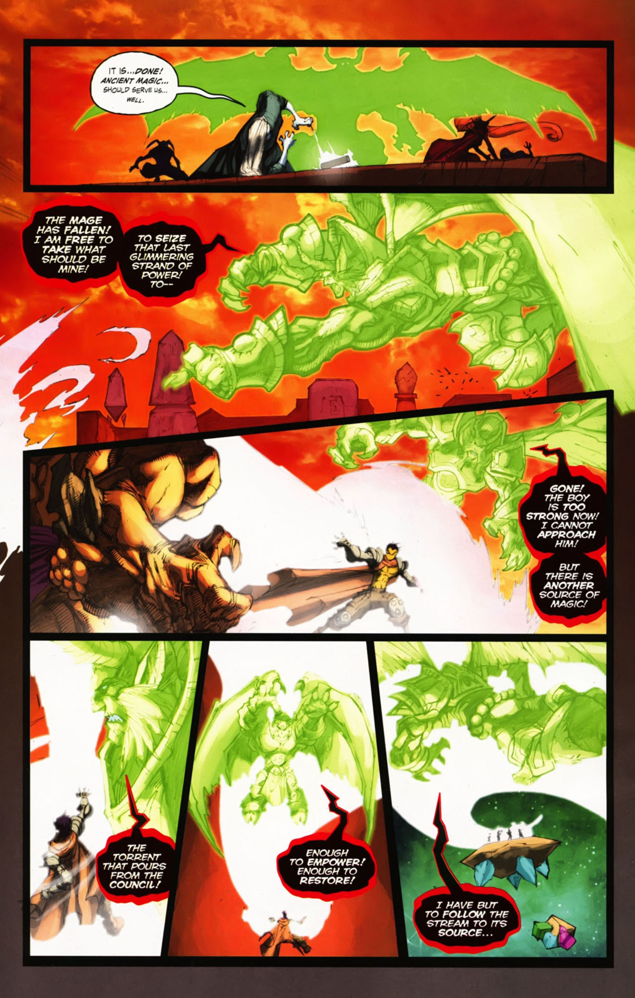 Read online World of Warcraft comic -  Issue #25 - 27
