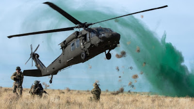 U.S. Military helicopter crashes, kills one