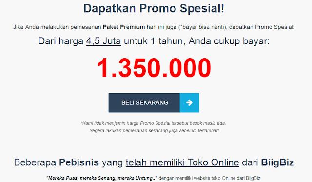 Jasa Pembuatan Toko Online Bandung