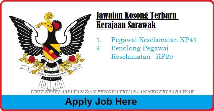 Jawatan Kosong Terbaru Unit Keselamatan dan Penguatkuasaan Negeri Jabatan Ketua Menteri  apply job here