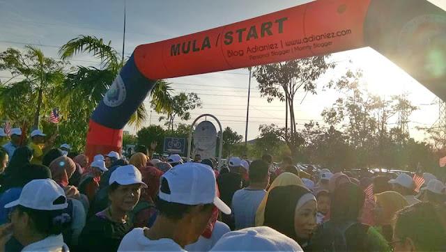 Fun Walk Sayangi Malaysiaku | Selamat Hari Kebangsaan 2018