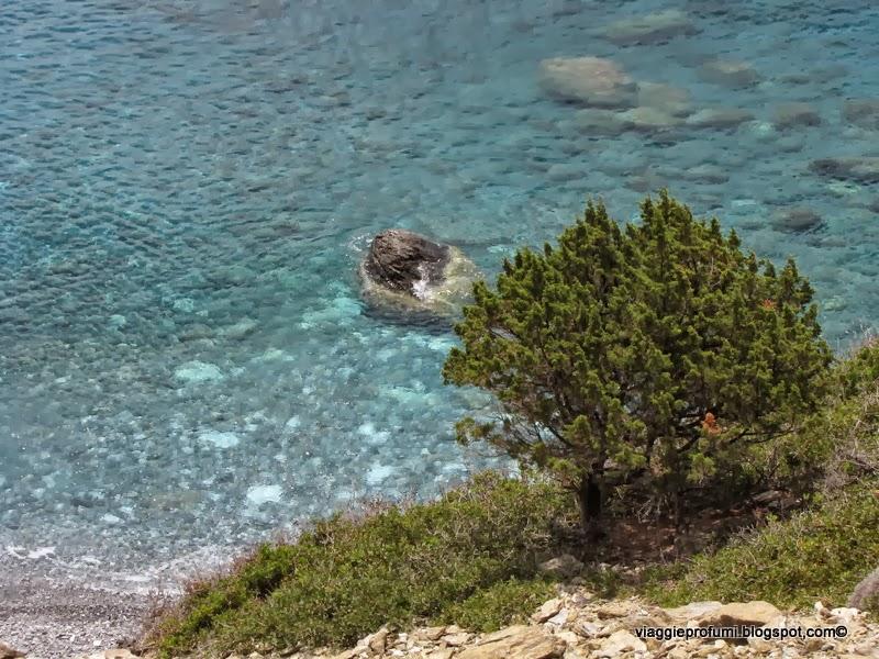 I colori del mare di Amorgos