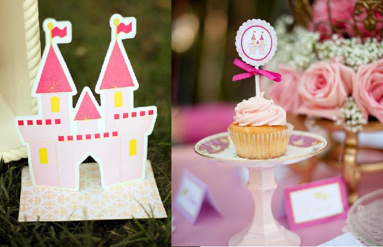 Princess Birthday Party Ideas: A DIY Fairytale Princess Birthday Party - BirdsParty.com