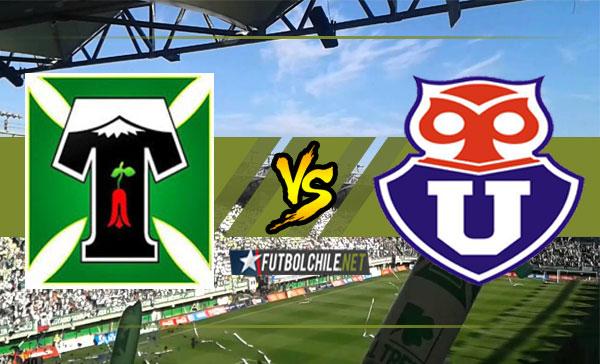 Deportes Temuco vs Universidad de Chile – 18:00 h – Primera División – 25/02/18