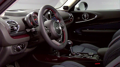 2016 MINI Clubman interior image