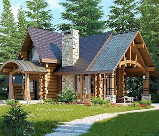 แบบบ้านไม้หลังใหญ่
