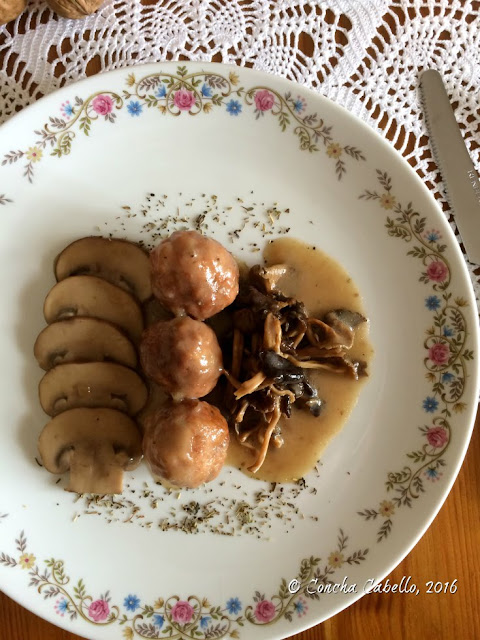 albándigas-pollo-portobello