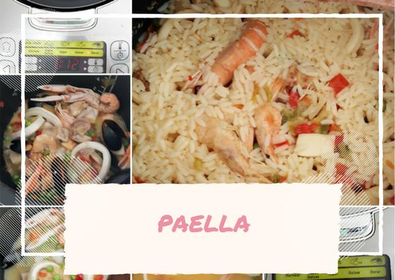 Paella robot de cocina moulinex