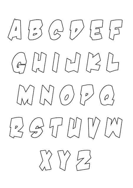 Moldes Letras Do Alfabeto Como Fa 231 O