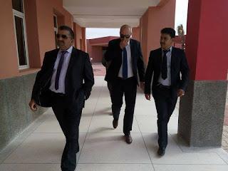 كلميم : المدير المركزي لوزارة التربية الوطنية يقف شخصيا رفقة مدير الاكاديمية والمدير الاقليمي لتتبع تأهيل المؤسسات