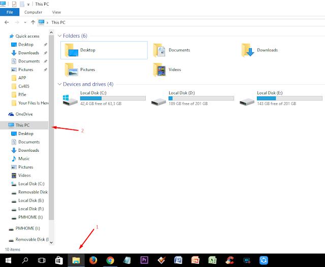 Cara Merubah Nama Local Disk D, E, F, G, H dst Pada Windows 10 hermanbagus
