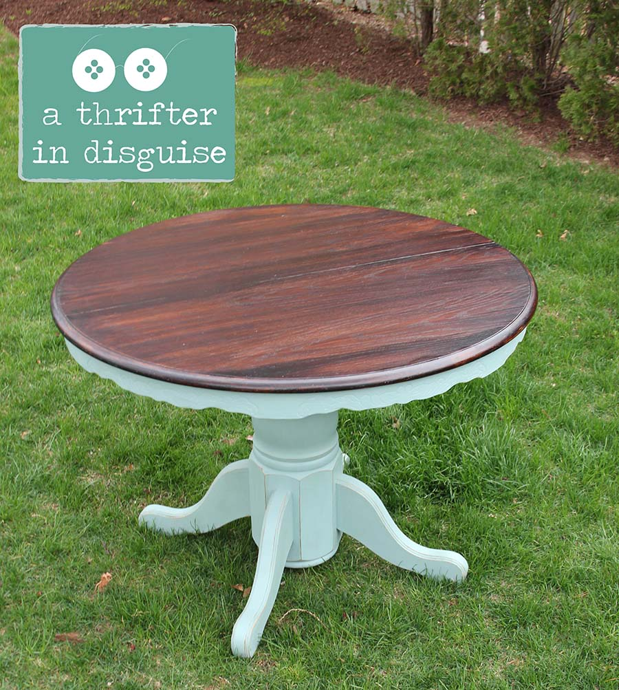 A Thrifter In Disguise Craigslist Dining Table Transformation