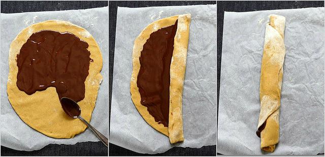 Krantz ou babka au chocolat recette et photos pas à pas