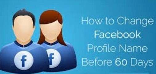 how to change your profile name on facebook before 60 days