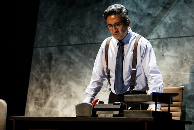 Adrian Pang as Chester Teo in DBS SPARKS: The Musical