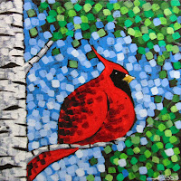 Sing A Song Numbers 1 & 2 painting by artist aaron kloss