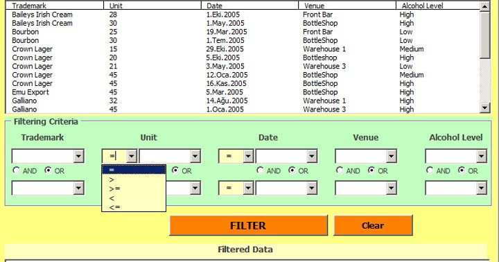 Filtering Data By Multiple Criteria On Userform - Hints And