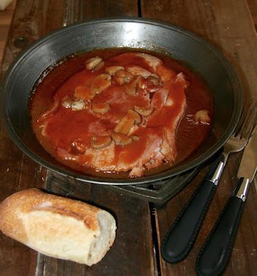 "alt=""jambon sauce madère"""