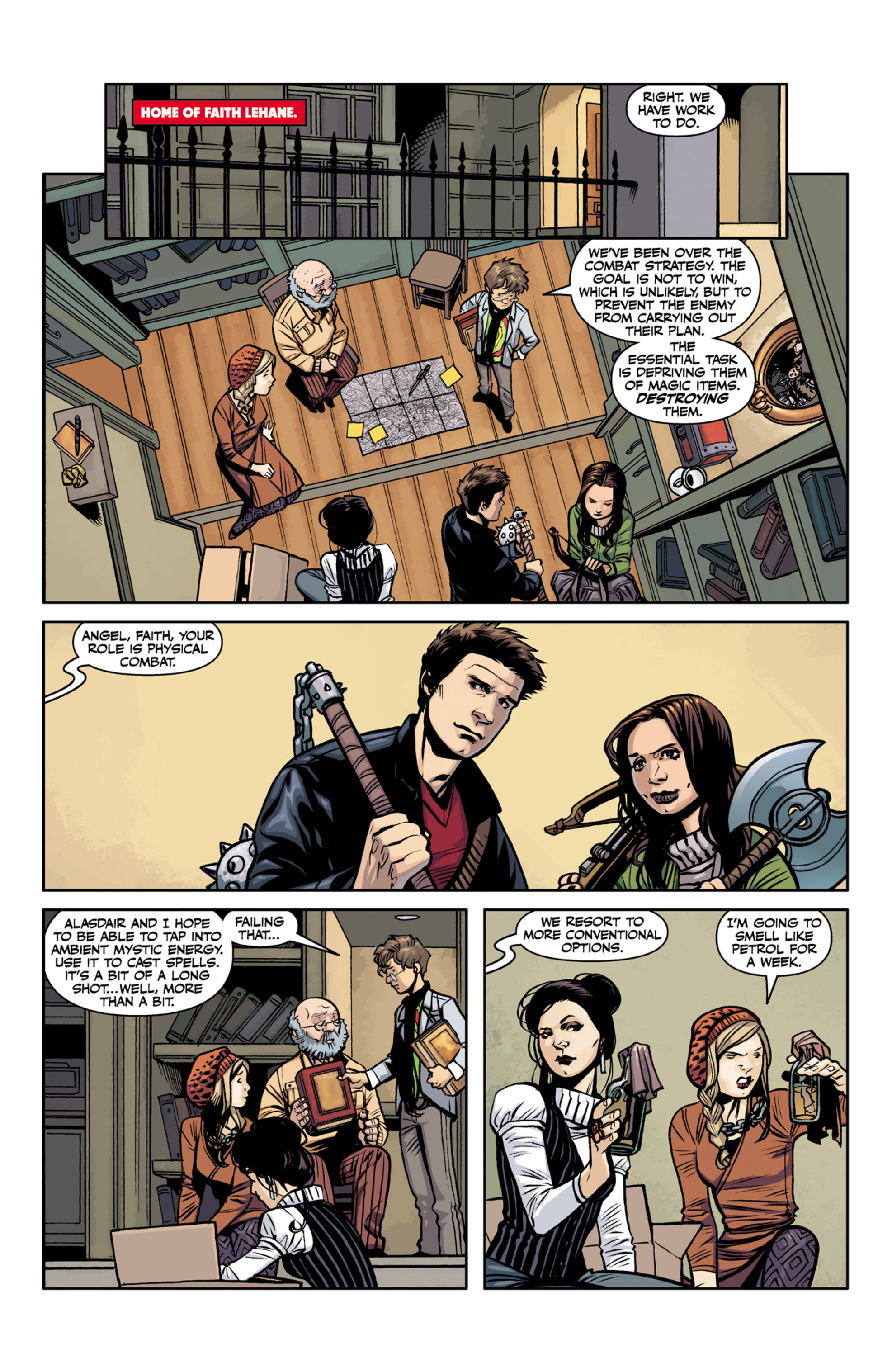 Read online Angel and Faith comic -  Issue #22 - 20
