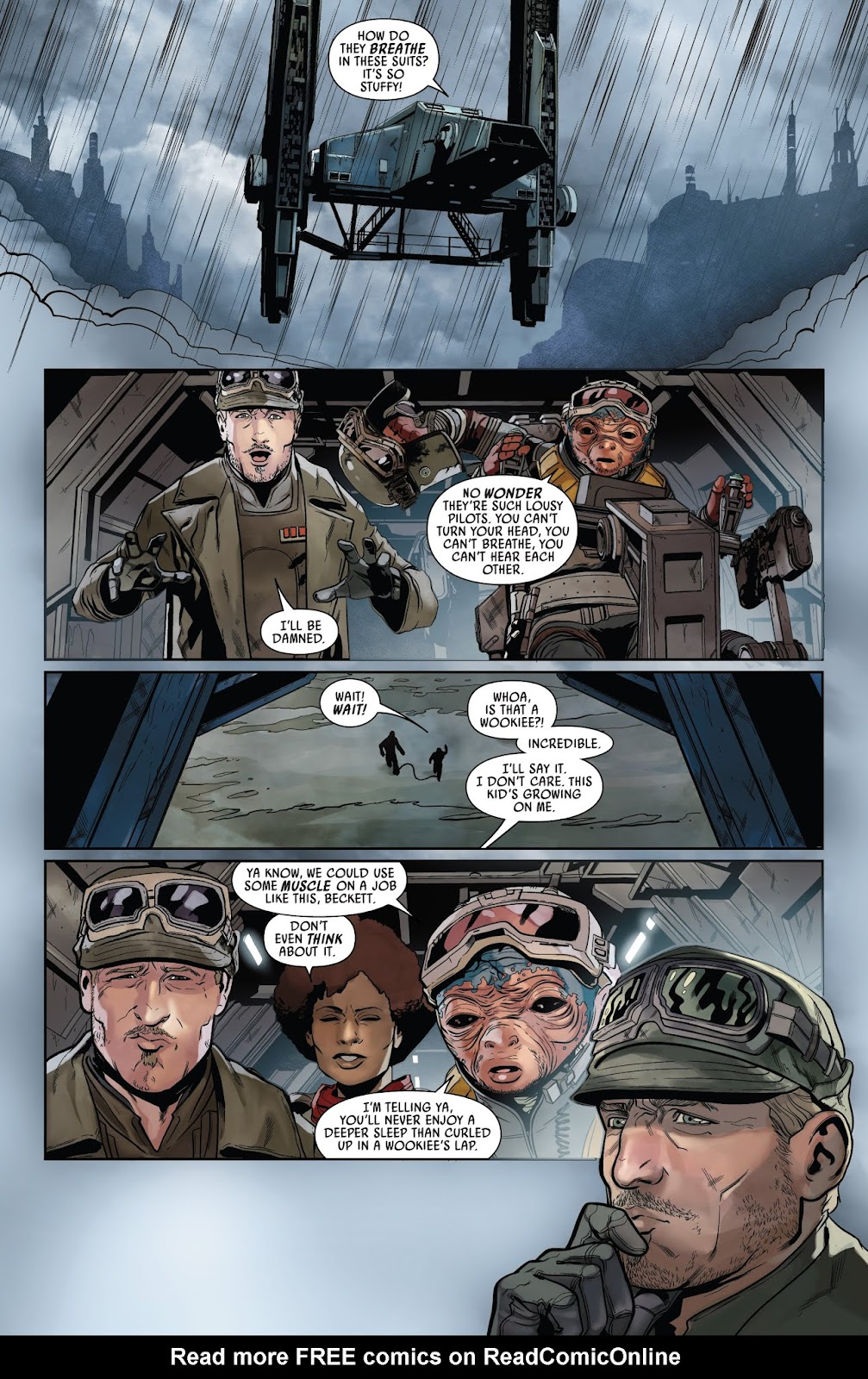 Read online Solo: A Star Wars Story Adaptation comic -  Issue #2 - 6