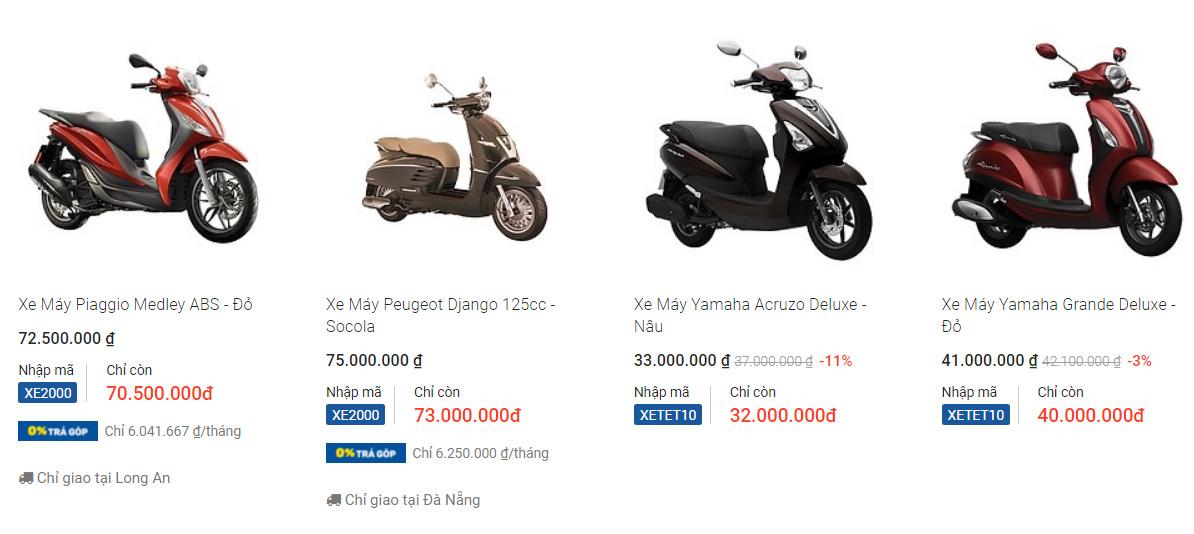 Nên mua xe máy hãng nào tốt nhất