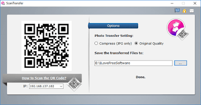 transfer-photos-videos-phone-to-pc-scanning-qr-code