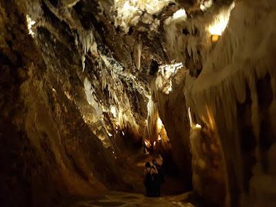 Formaciones de la gruta de las Maravillas de Aracena