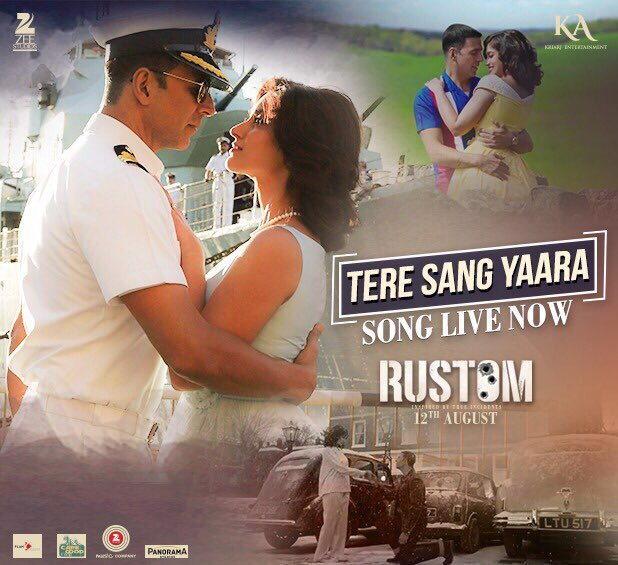 tere sang yaara official song promo rustom