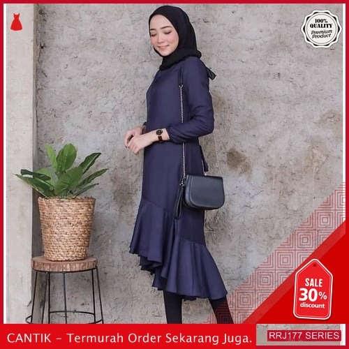 Jual RRJ177A205 Atasan Rukhi Tunik Wanita Mc Terbaru Trendy BMGShop