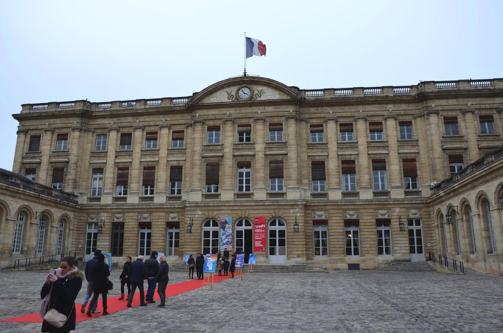 Mairie hôtel de ville Bordeaux Décembre 2017