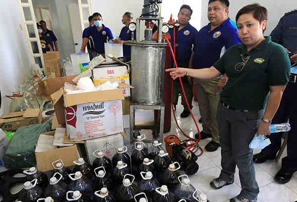P4 BILLION WORTH OF SHABU SEIZED IN PAMPANGA, 4 CHINESE NATIONAL ARRESTED
