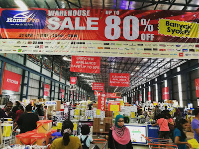 Jualan Gudang HomePro Warehouse Sale