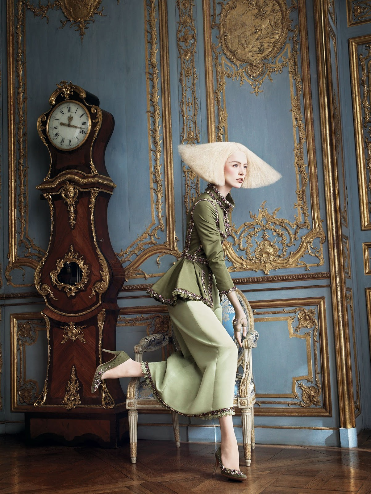 spring forward a flippen life photographed by david sims vogue october 2007