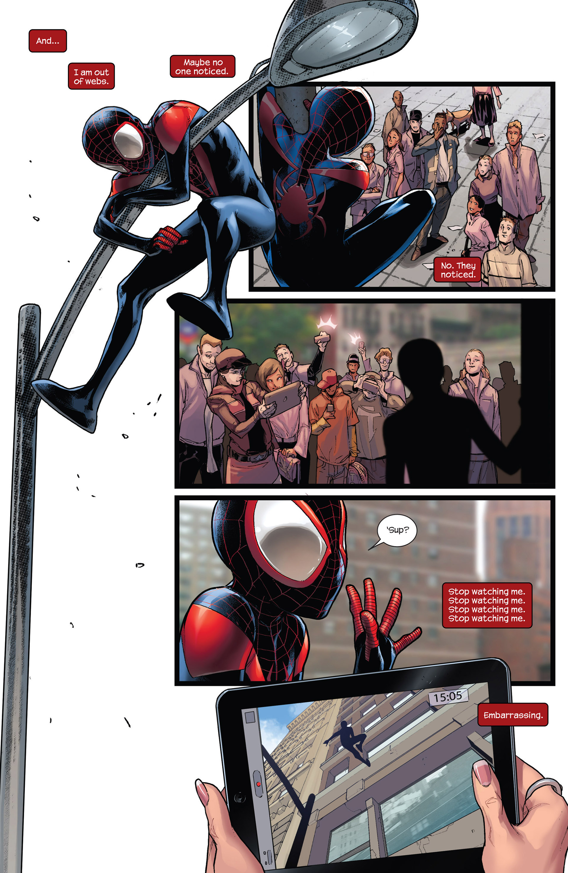 Read online Ultimate Comics Spider-Man (2011) comic -  Issue #19 - 4