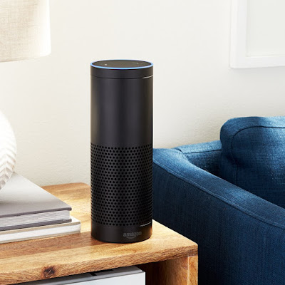 Amazon Echo comes with Alexa