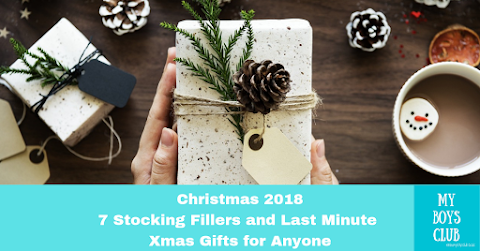 Christmas 2018: 7 Stocking Fillers & Last Minute Gift Ideas AD