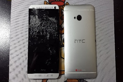 Thay mặt kính HTC One M8 giá bao nhiêu?