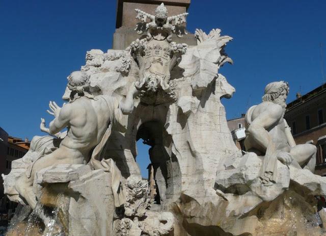 Fontanna Czterech Rzek wRzymie
