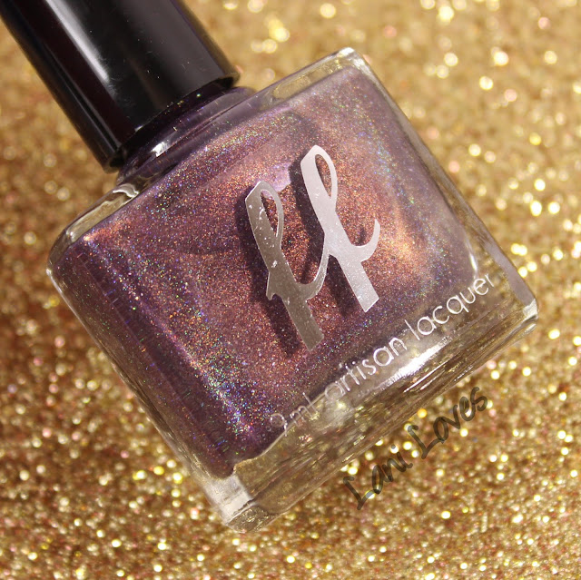Femme Fatale Cosmetics Dusk Dazzle Nail Polish Swatches & Review