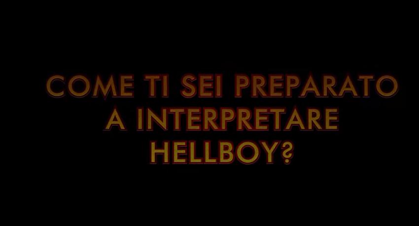 """Hellboy - Featurette """"Come si diventa Hellboy"""""""