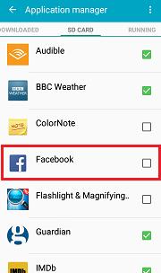 Cara Memindahkan Aplikasi ke Kartu SD? pada Samsung Galaxy 9