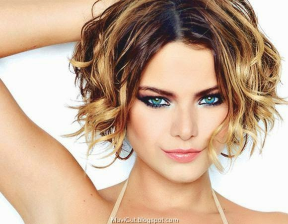 S Curl Hairstyles For Short Hair: Curly Hairstyles With Short Haircuts