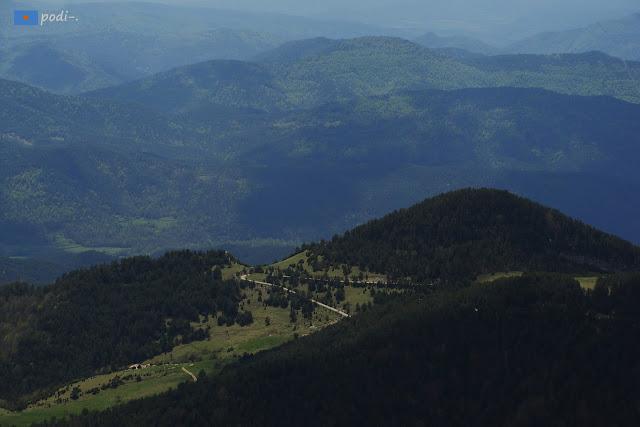 Pista de Bruguera a Ribamala Puig de l'Àliga