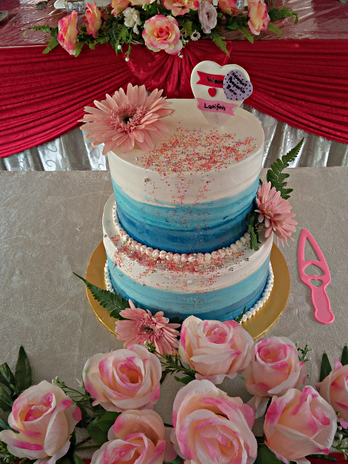 stacking sponge wedding cakes stack wedding cake 2 tiers 3 tiers muffin kaseh azean 20475